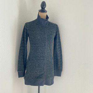 Roots Herringbone sweater jacket